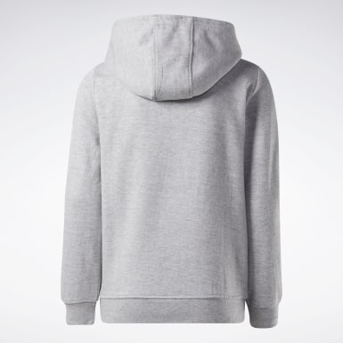 Sudadera Reebok Outline Gris Niño Fitness & Training
