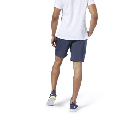 Men Fitness & Training Blue Elements Woven Shorts