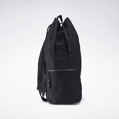 Women Classics Black VB Two Way Duffel