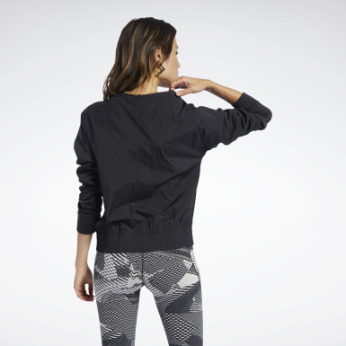 Dames Fitness & Training Zwart Midlayer Sweatshirt met Ronde Hals