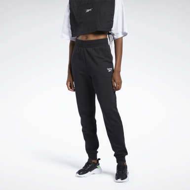 Kvinder Classics Black Classics French Terry Pants