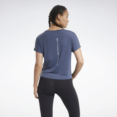 Women Hiking Blue ACTIVCHILL Boxy T-Shirt