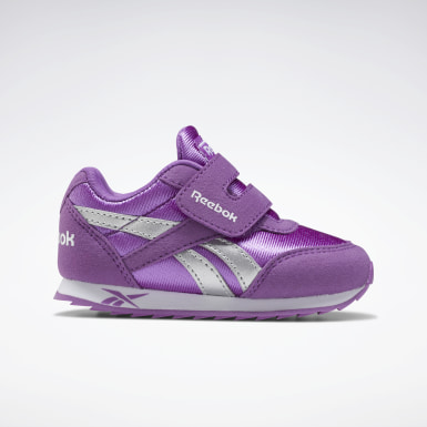 Girls Classics Purple Reebok Royal Classic Jogger 2 Shoes