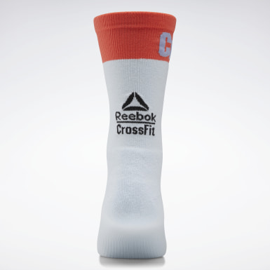 Cross Training Blue CrossFit® Printed Crew Socks