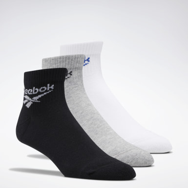 Classics White Classics Foundation Ankle Socks 3 Pairs