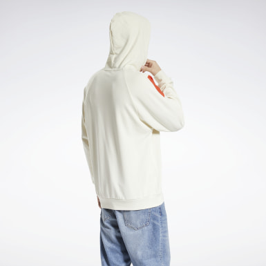 Classics White Classics PVT EMB Hooded Sweatshirt