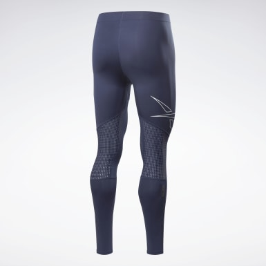 Herr HIIT Blå United by Fitness Compression Tights