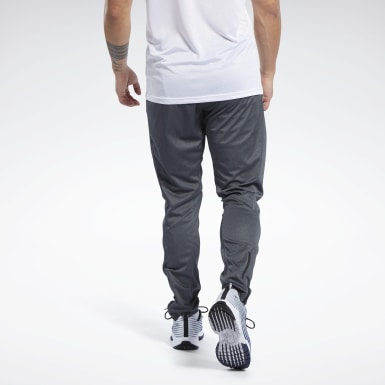 Men Fitness & Training Grey Speedwick Track Pants