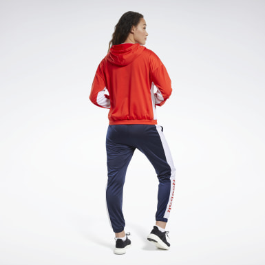 Frauen Fitness & Training Linear Logo Hoodie Track Suit