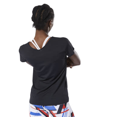 Women Training Black ACTIVCHILL Tee