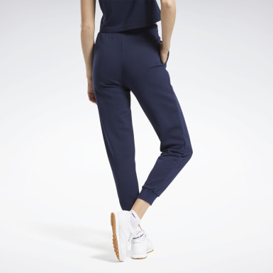 Kvinder Classics Blue Classics French Terry Pants