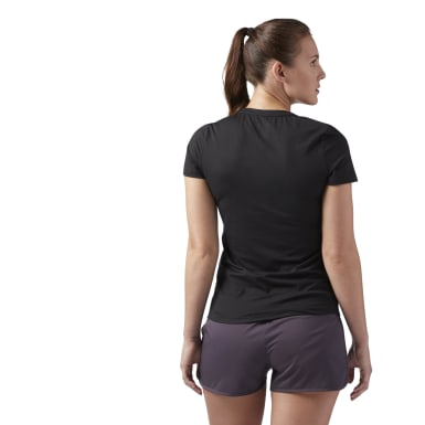 Camiseta Workout Ready Speedwick Negro Mujer Fitness & Training