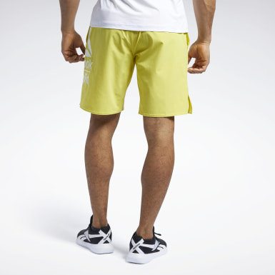 Short Reebok CrossFit® Epic Base Large Branded Jaune Hommes Cross Training