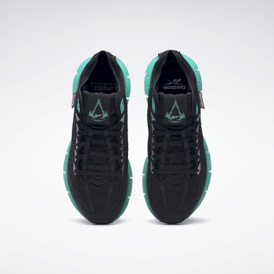 Running Black Assassin's Creed Valhalla Zig Kinetica Shoes