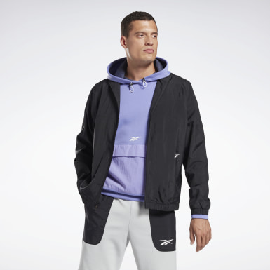 Men Fitness & Training Black MYT Ollie Windbreaker