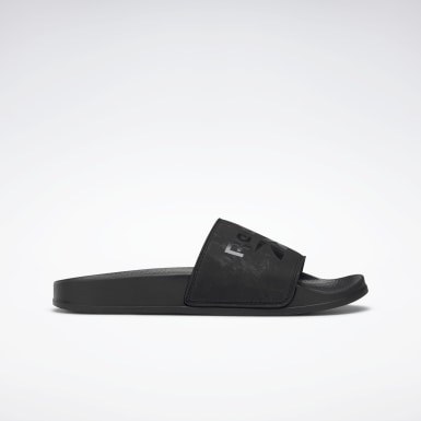 Women Swimming Black Reebok Fulgere Women's Slide