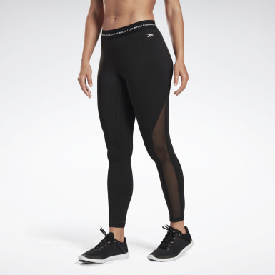 Dames Studio Zwart LES MILLS® High-Rise Legging