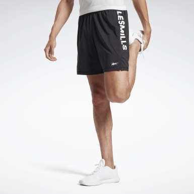Men Studio Black LES MILLS® Shorts
