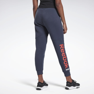 Pantalon logo Linear Bleu Femmes Fitness & Training