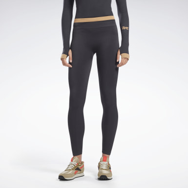Tight VB Seamless Nero Donna Fitness & Training