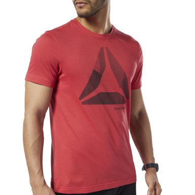 Playera Graphic Series One Series Training Shift Blur Rojo Hombre Fitness & Training