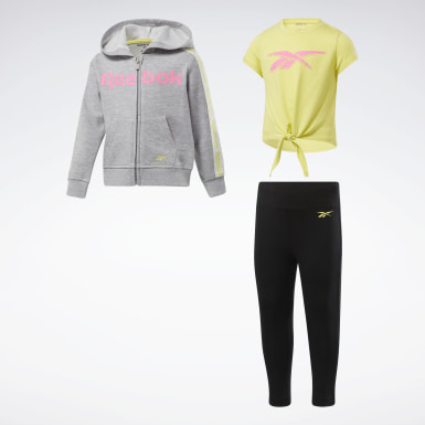Girls Training 3-Piece Reebok Bold Set