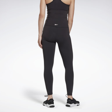 Women Yoga Black Reebok Lux Maternity Tights 2.0