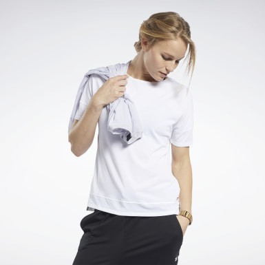 Dames Wandelsport Wit ACTIVCHILL+COTTON T-shirt
