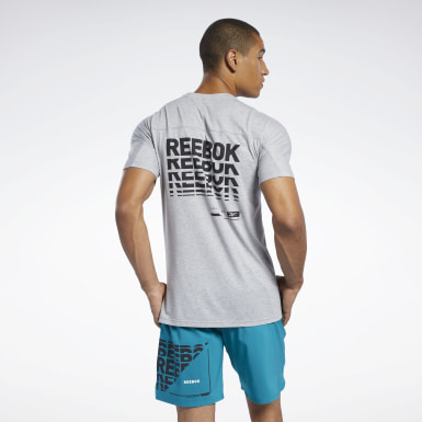 Men Yoga Grey Speedwick Move Tee