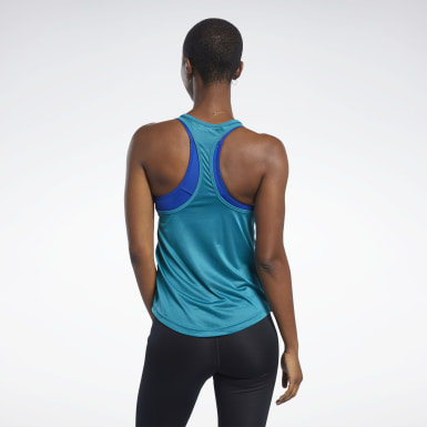 Women Training Mesh Back Tank Top