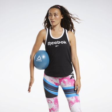 Canotta MYT Reebok Nero Donna Fitness & Training