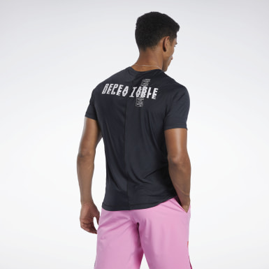 Mænd Cross Training Black Reebok CrossFit® ACTIVCHILL Tee