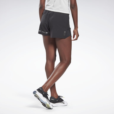 Kvinder Cycling Black LES MILLS® 4-Inch Epic Shorts