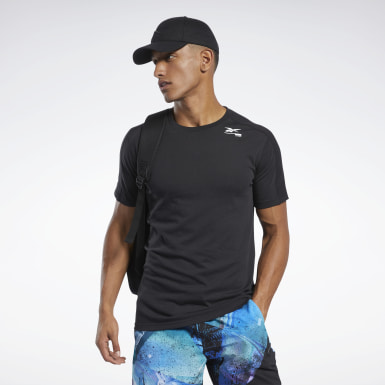 Mænd Fitness & Training Black Speedwick Move Tee