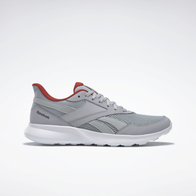 Men Running Grey Reebok Quick Motion 2.0 Shoes