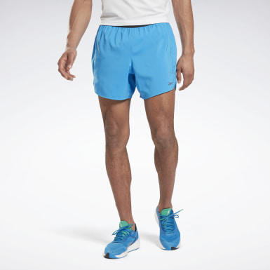 Men Running Blue Run ACTIVCHILL 5-Inch Epic Shorts