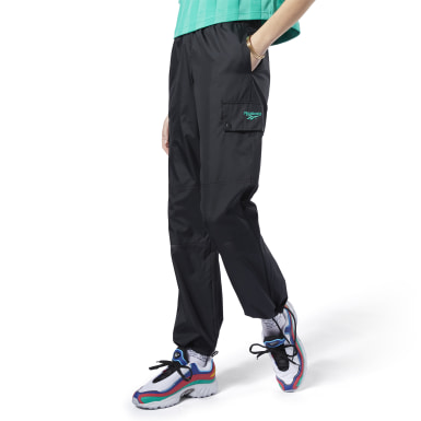 Women Classics Black Classics Trail Track Pants