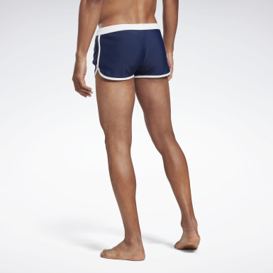 Men Swimming Blue Reebok Seann Swim Shorts
