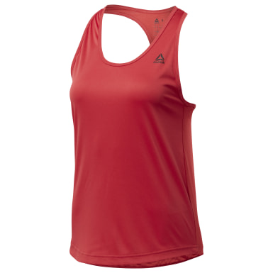 Women Training Red US PERFORM MESH TANK