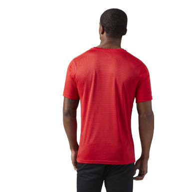 Remera Training Rojo Hombre Fitness & Training