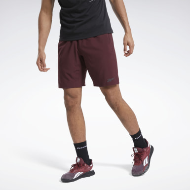 Men HIIT Burgundy Speedwick Speed Shorts
