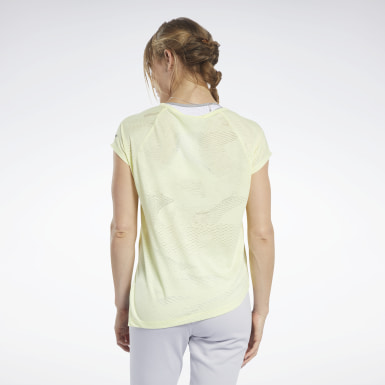 T-shirt semi-transparent Femmes Yoga