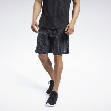 Men Fitness & Training Black Speed Shorts