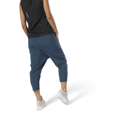 Pantalon 7/8 Training Supply Bleu Femmes Fitness & Training
