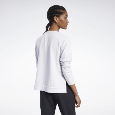Women Training White ACTIVCHILL+COTTON Long Sleeve Tee