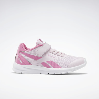 Kids Running Pink Reebok Rush Runner 2.0 Shoes