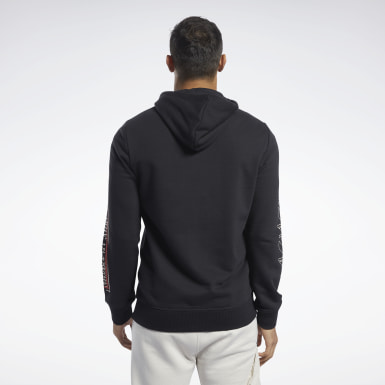 Men Training Black Reebok CrossFit® Full-Zip Hoodie