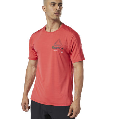 Remera One Series Training ACTIVCHILL Move Rojo Hombre Fitness & Training