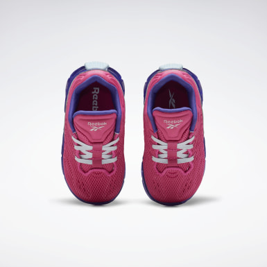 Girls Classics Pink Zig Kinetica Shoes