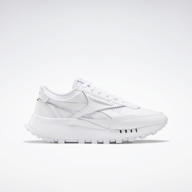 Kids Classics White Classic Leather Legacy Shoes